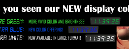 Alternate New Display Colors Banner