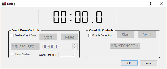 TM-Manager Time Control GUI