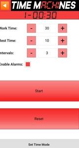TM-Timer Tabata Control Default Settings