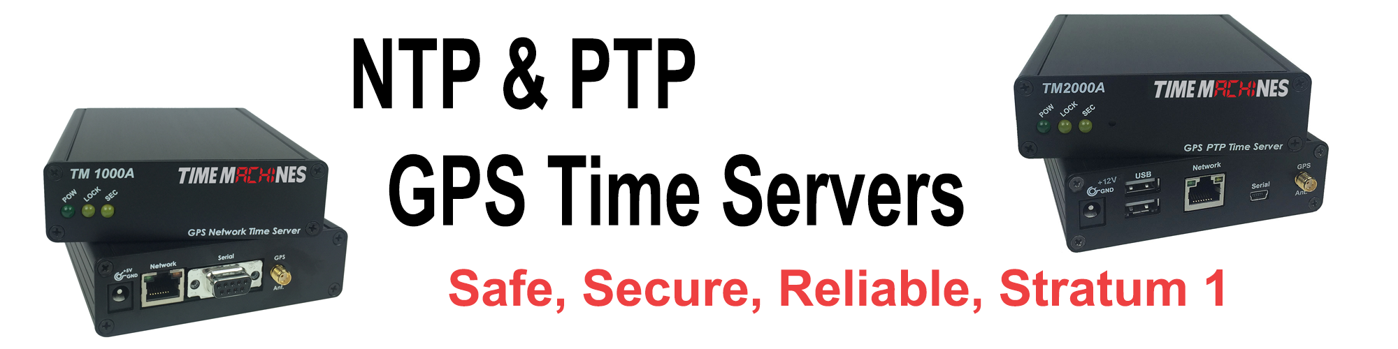 GPS Timeservers - Network Time Servers from TimeMachines