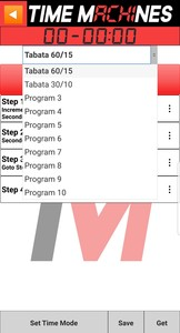 Timer Program Slot Listing