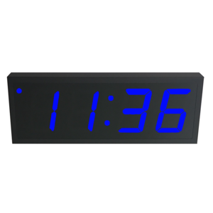 NTP PoE Clock Timer Display blue-4 large digits
