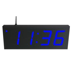 NTP WiFi Clock Timer Display blue-4 large digits