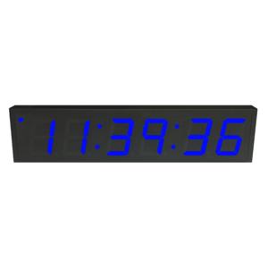 NTP PoE Clock Timer Display blue-6 large digits