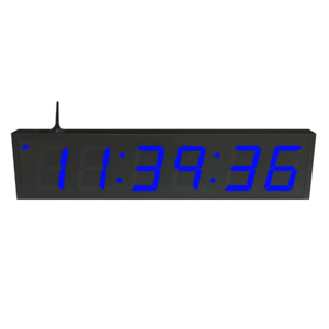 NTP WiFi Clock Timer Display blue-6 large digits