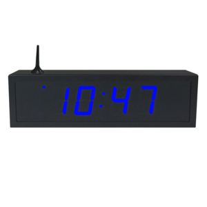 NTP WiFi Clock Timer Display blue-4 small digits