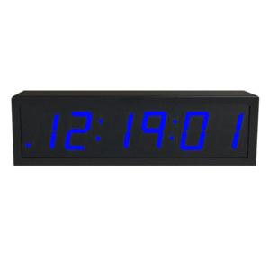 NTP PoE Clock Timer Display blue-6 small digits