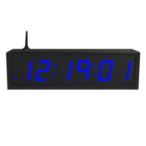 NTP WiFi Clock Timer Display blue-6 small digits