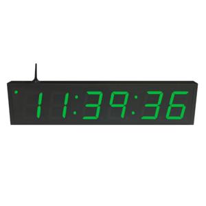 NTP WiFi Clock Timer Display green-6 large digits