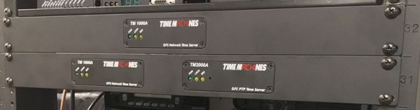 picture of time machines racks