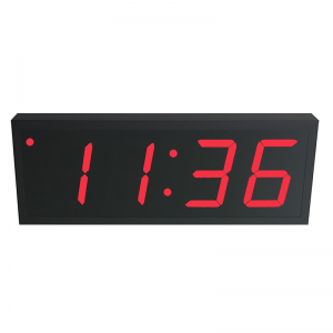 NTP PoE Clock Timer Display red-4 large digits