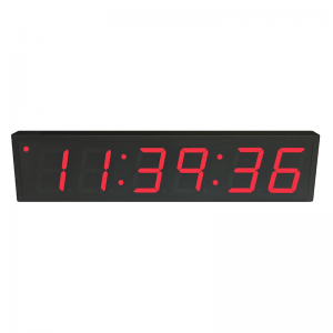 NTP PoE Clock Timer Display red-6 large digits