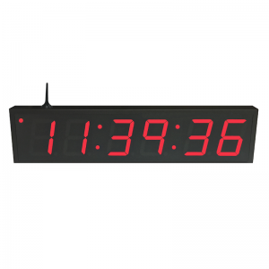 NTP WiFi Clock Timer Display red-6 large digits
