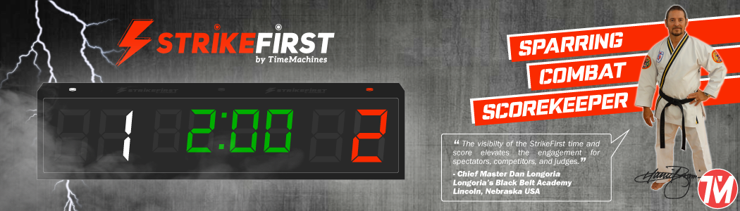 strikefirst taekwondo scorekeeper and timer - great for tkd tournaments and competitions - approved by chief master dan longoria in lincoln nebraska