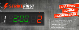 Strikefirst Taekwondo Scorekeeper And Timer - Great For Tkd Tournaments And Competitions - Approved By Chief Master Dan Longoria, Lincoln Nebraska