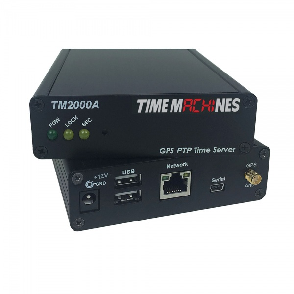 ntp ptp time server with gps