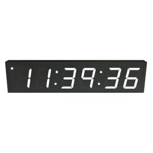 NTP PoE Clock Timer Display white-6 large digits