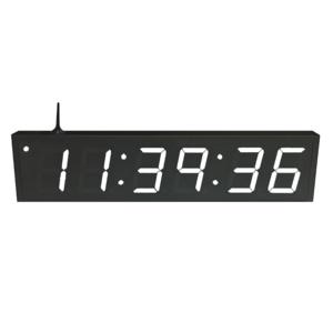 NTP WiFi Clock Timer Display white-6 large digits