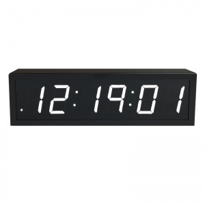 NTP PoE Clock Timer Display white-6 small digits